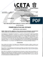 Norma Técnica Estatal Ambiental NTEA 011 SMA RS 2008 Que Establece Los Requisitos Para El Manejo de Los Residuos de La Construccion Para El Estado de México