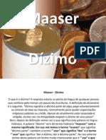 Maaser - Dízimo