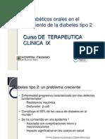 (0)-Diabetes 2009 SAM Farmacoteraia Oral