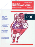 Revista Internacional - Nuestra Epoca N°6 - Edición Chilena - Junio 1980