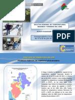 Boletin Semanal Temperaturas Extremas Del 14 -20 JULIO 2014 - Región Moquegua
