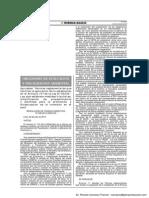 Normas reglamentarias que priorizan prevención en fiscalización ambiental - RCD 026-2014-OEFA/CD