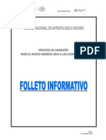 ENAH - Folleto Informativo