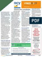 Pharmacy Daily for Fri 25 Jul 2014 - Blood borne virus consultation, PPA