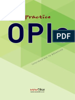 Lets Practice OPIc