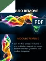 Modulo Remove