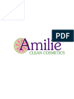 Amilie Clean Cosmetics GCC Business Plan May 4th