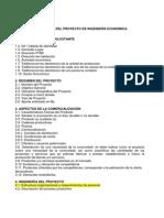 Estructura Del Proyecto Ing Económica