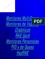 Equipo de Monitoreo a Control Remoto