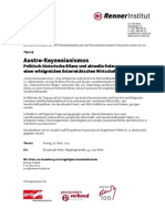 Austro-Keynesianismus Programm 20110318