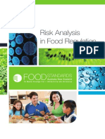 Risk Analysis Food Regulation by FSANZ