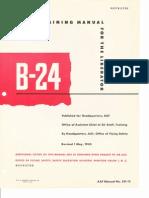 B-24 Pilot Training Manual