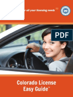 Checklist Renew Drivers License Colorado