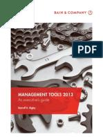 Bain Management Tools 2013