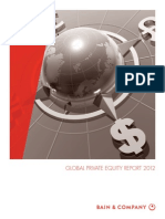 Bain & Co- Global Private Equity Report 2012