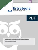 Aula 02 - Legislação Específica (LODF e LC Nº 8402011)