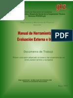 Manual de Herramientas de Evaluacion Externa e Interna
