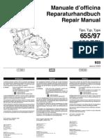 782463-1997 Aprilia Pegaso 655 Motorcycle Engine Repair Manual