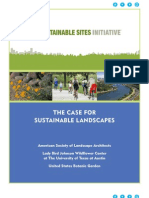 The Case for Sustainable Landscapes_2009