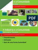 Sustentabilidade Da Actividade Industrial