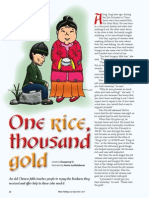 Rice Today Vol. 13, No. 3 One rice, thousand gold