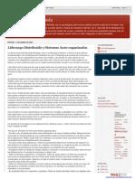 Liderazgo Distribuído y Sistemas Auto-Organizados Democraciaprofunda-blogspot-com-Ar