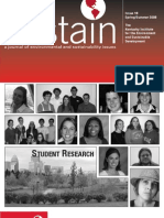 Sustain18 Student Research