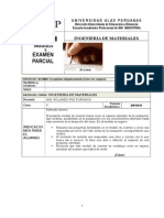 Examen Parcial Ing Materiales 2 014 II
