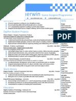 jarrod sherwin resume