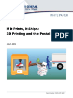 If It Prints It Ships 3d Printing and the Postal Service