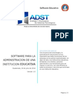 Software Educativo Administrativo