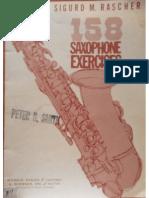 158 Sigurd Rascher Saxophone Exercises