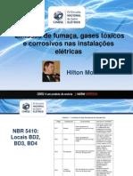 Emissão de Fumaça, Gases Tóxicos e Corrosivos Nas Instalações Elétricas