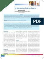 Diagnosis Dan Manajemen Sindrom Sjogren