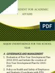 Accomplishments and Plans