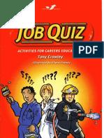 Job Quiz. Quzzes for Careers Education