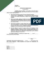 14-Affidavit of Undertaking