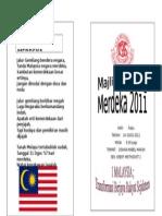 Merdeka 2011-Buku Program