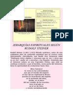 JERARQUÍAS ESPIRITUALES SEGÚN
