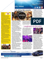 Business Events News for Fri 25 Jul 2014 - SA to drive biz events, Langham's in the pink, LACC's $10m make-over, Wolgans Heymeijer resigns and much more