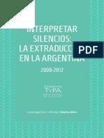 La Extraduccion en La Argentina 6ta