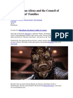 The Reptilian Aliens and the Council of the 13