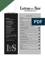 Revista_letras Del Sur