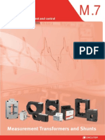 02 - Current TFs, Voltage TFs & Shunts