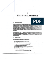 L-7) Statistical Methods