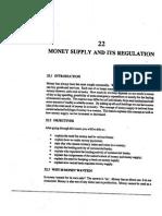 L-22) Money Supply and Its Regulation