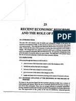 L-25) Recent Economic Reforms and the Role of Planing