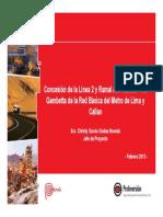 Per -Concesi n l Nea 2 Del Metro de Lima y Callao