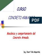 C2.- Mecanica Del Concreto Armado