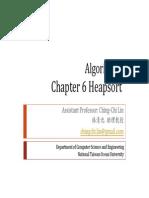Algorithm Ch6 Heapsort